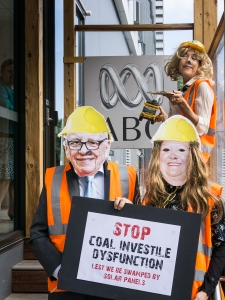 Community minded BUMS help ABC broadcasters learn to love coal too!